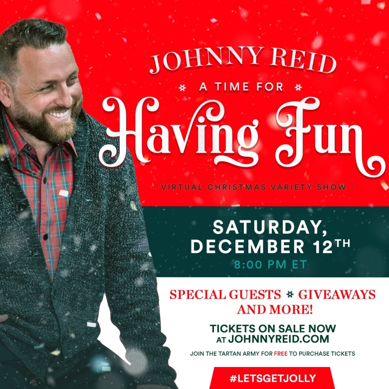 Johnny Reid – A Time for Having Fun Virtual Christmas Variety Show