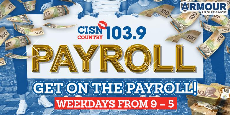 CISN Country 103.9 – PAYROLL