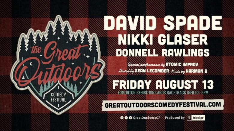 Great Outdoor Comedy Festival – David Spade